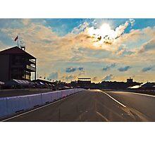 Mid Ohio Race Track Photographic Print