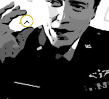 The Gold Watch Sticker