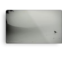 Little Snow Bird Metal Print