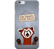 Fire Ferrets For Sale iPhone Case/Skin