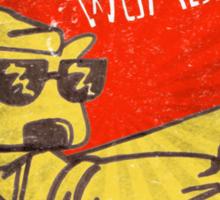 Wombat Revolution - Vintage Sticker