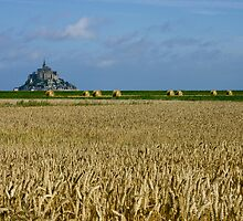 Mont Saint-Michel by SJ-C