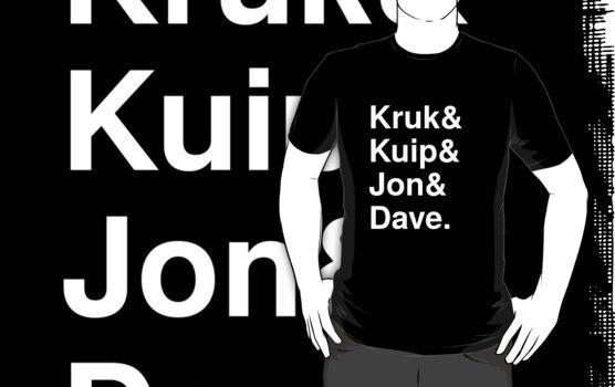 Kruk& Kuip& Jon& Dave. by swiener
