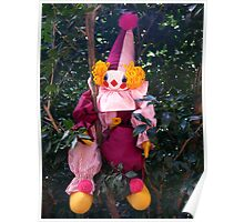 Clown in a Tree Poster