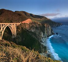Bixby Bridge  by s2kologist