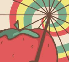 Strawberry Frye Sticker