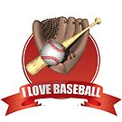 I Love Baseball by noeljerke