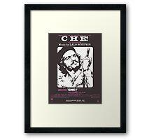 CHE (vintage illustration) Framed Print