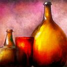 Bar - Bottles - A still life of bottles by Mike  Savad