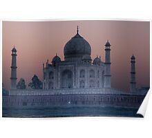 Agra Sunrise Poster