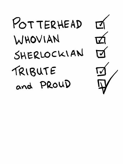 Potterhead, Whovian, Sherlockian, Tribute, and Proud by BethanApple