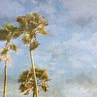 Palms in the Sky by AuntDot