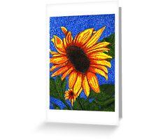 Van Gogh's Sunflowers Greeting Card