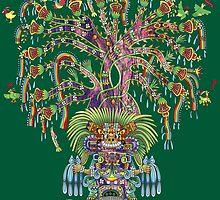 Aztec World Tree by flakdamage