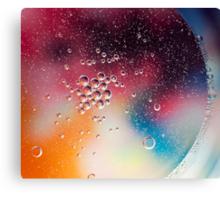 Color of bubbles Canvas Print
