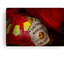Fireman - Everyone loves red Canvas Print