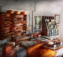 Office - The Purser's room by Mike  Savad