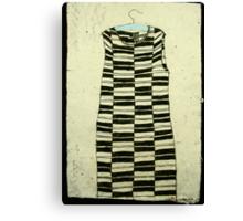 KE vintage dress Canvas Print