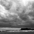 Gloomy Scarborough North Bay by Asher Haynes