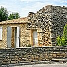 Stone House in southern France by KSKphotography