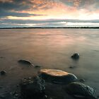 A West Inlet Sunset by Stephen Gregory