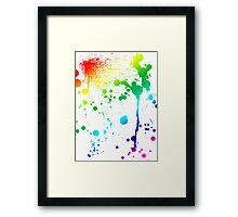 Pride Paint Framed Print