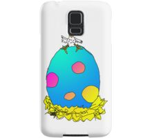 Who's egg is this? Samsung Galaxy Case/Skin