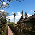 Bali Temple by Leah Kennedy