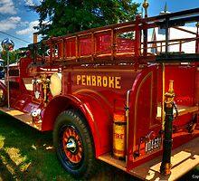 Vinatage Fire Tender by John  Paper