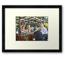 It's Time To Eat Chestnuts Framed Print