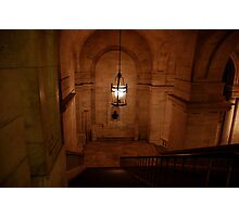 Staircase at the New York city library Photographic Print