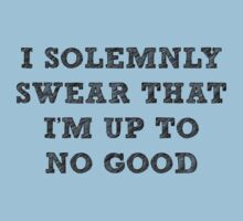 I solemnly swear that I'm up to no good by SallyDiamonds
