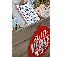 The Little Veggie Patch co.  Photographic Print