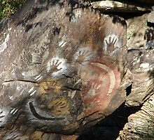 Rock Paintings Photograph by Ali Choudhry