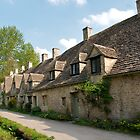 Arlington Row Weavers Cottages, Bibury by Melodee Scofield