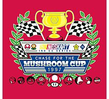 Chase for the Mushroom Cup Photographic Print