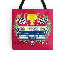 Chase for the Mushroom Cup Tote Bag