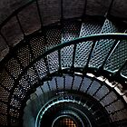 Currituck Lighthouse Stairs by Robin Lee