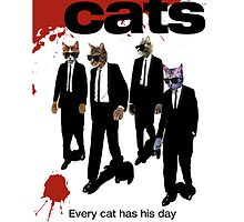 Reservoir Dogs (Cats) Meow by EliSinn