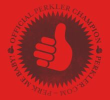 Official Perkler Champion - Red by Perkler