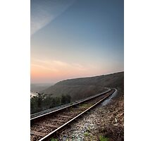 The Railway Line Photographic Print