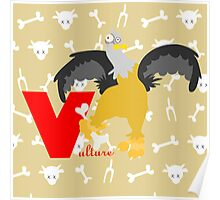 v for vulture Poster