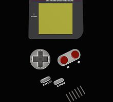Geek Retro Video Game Boy Console iPad Case / iPhone 5 / iPhone 4 Case  / Samsung Galaxy Cases  / Pillow / Tote Bag by CroDesign