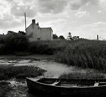 Old Boat - Brancaster Staithe II by Richard Flint