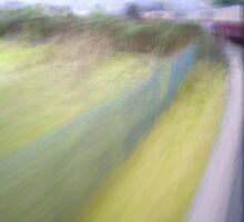 Steam Train Abstract by Natalie Kinnear