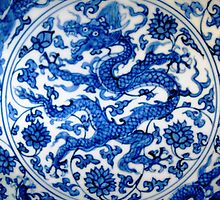 Blue Dragon © by Ethna Gillespie