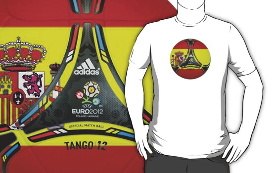 Euro 2012 Football - Spain by SkinnyJoe