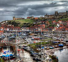 Whitby Marina by Paul Thompson Photography