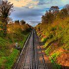 Railway Line by Eddie Howland