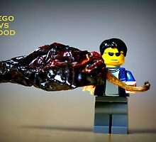 Lego vs Food by cherryamber